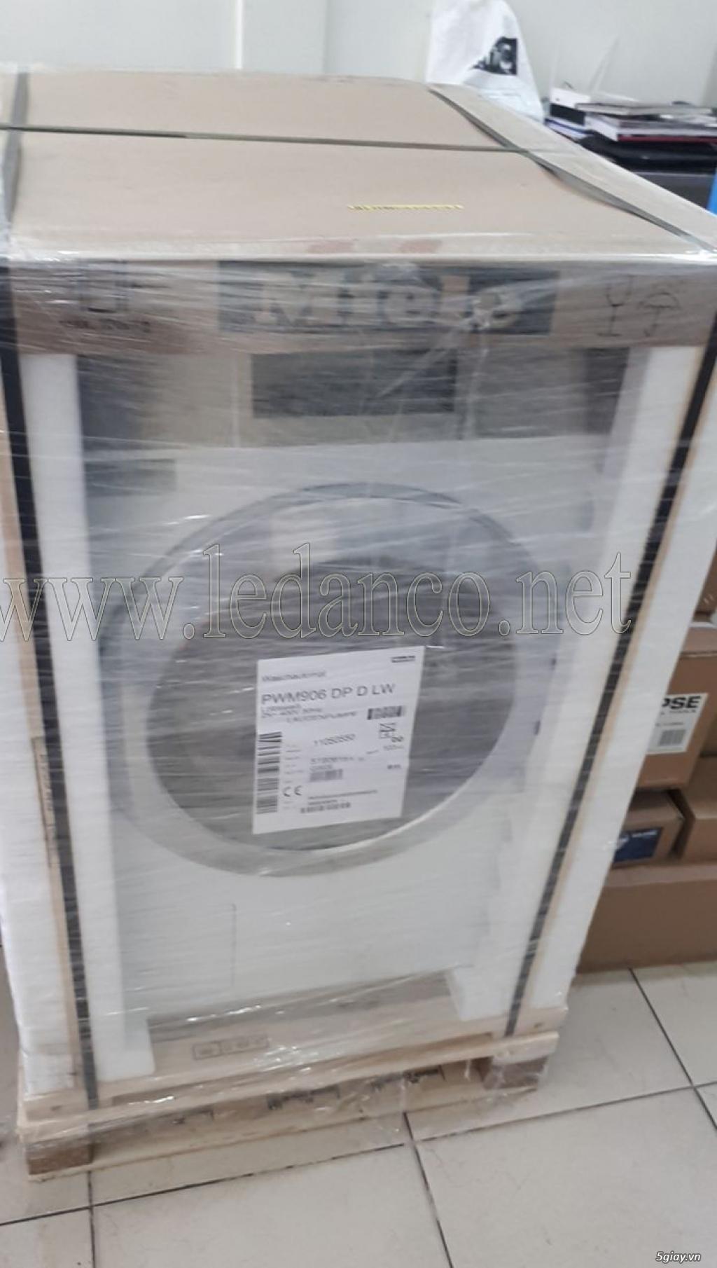 Máy giặt Miele PWM 906 chính hãng, giấy hiệu chuẩn và CO/CQ - 1