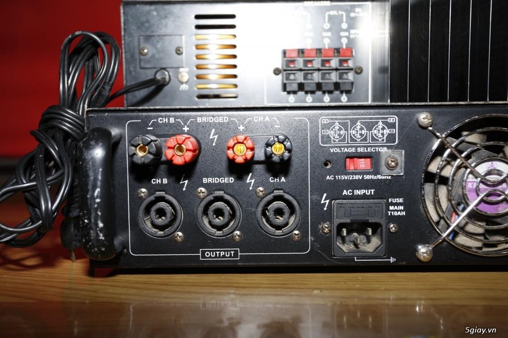 Pow amplier ASI 1000, Victor PS-254, Pre amplier Mixer DJM-600 - 8