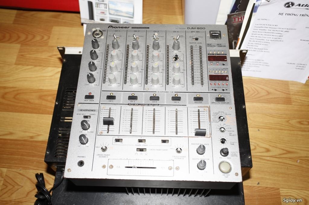 Pow amplier ASI 1000, Victor PS-254, Pre amplier Mixer DJM-600 - 9