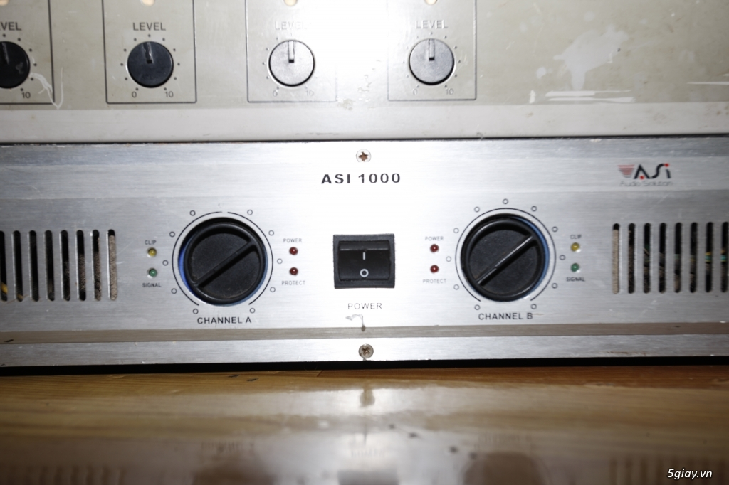 Pow amplier ASI 1000, Victor PS-254, Pre amplier Mixer DJM-600 - 4