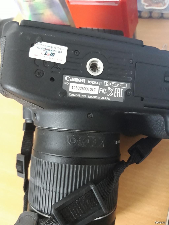 Canon 700D mới chụp 2k8 shot, len kit 18-55mm, tặng kèm chân máy - 2