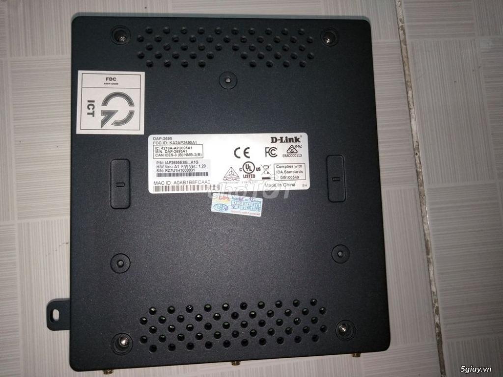 Cần bán Wifi Router DLink DAP-2695 cao cấp, 1750Mbps, mới 100% - 3