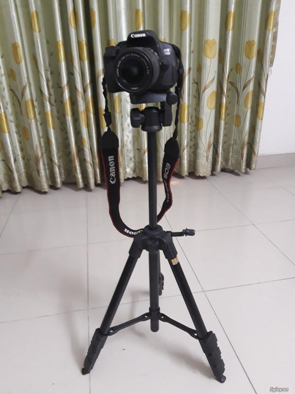 Canon 700D mới chụp 2k8 shot, len kit 18-55mm, tặng kèm chân máy - 1