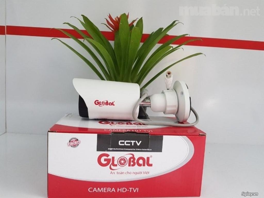 Trọn bộ 7 camera Global full HD 2.0M (Giá 8.850.000). Bảo hành 02 năm