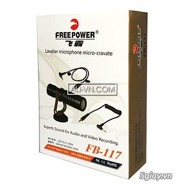 Micro thu âm mini cho điện thoại FreeFower FB 117
