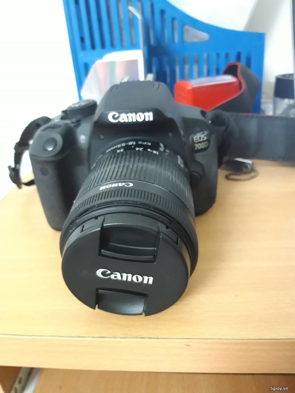 Canon 700D mới chụp 2k8 shot, len kit 18-55mm, tặng kèm chân máy - 3