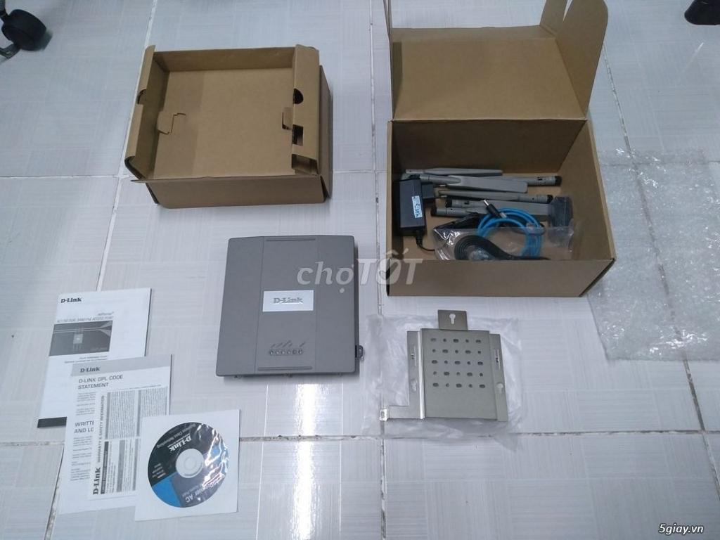 Cần bán Wifi Router DLink DAP-2695 cao cấp, 1750Mbps, mới 100% - 1