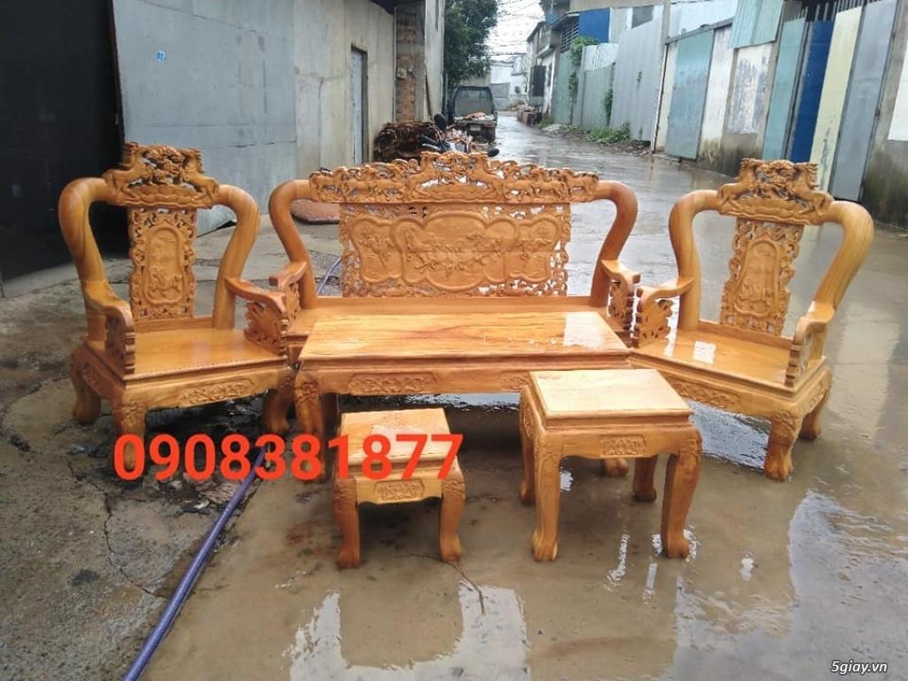 salon phòng khách gỗ quý giá cực rẻ ( xem hàng tại xưởng ) - 21