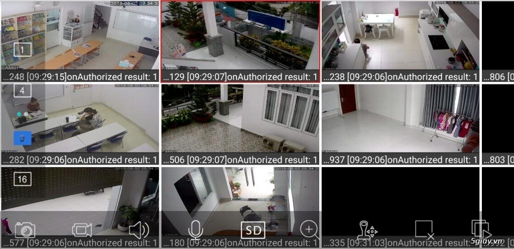 đầu ghi hình 4 kênh độ phân giải full hd,1080N giá rẻ