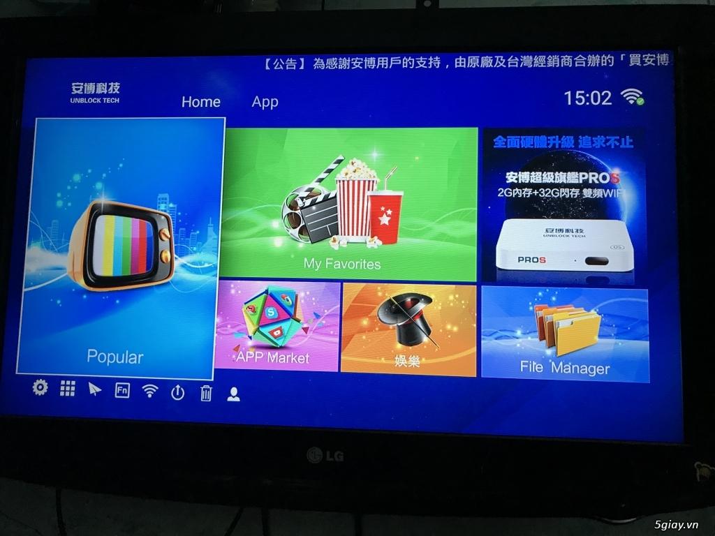 Cái cuối: 4k smart tivi box UBOX3 S900 PRO chính hãng End: 23h00 ngày 19-10-2019 - 9