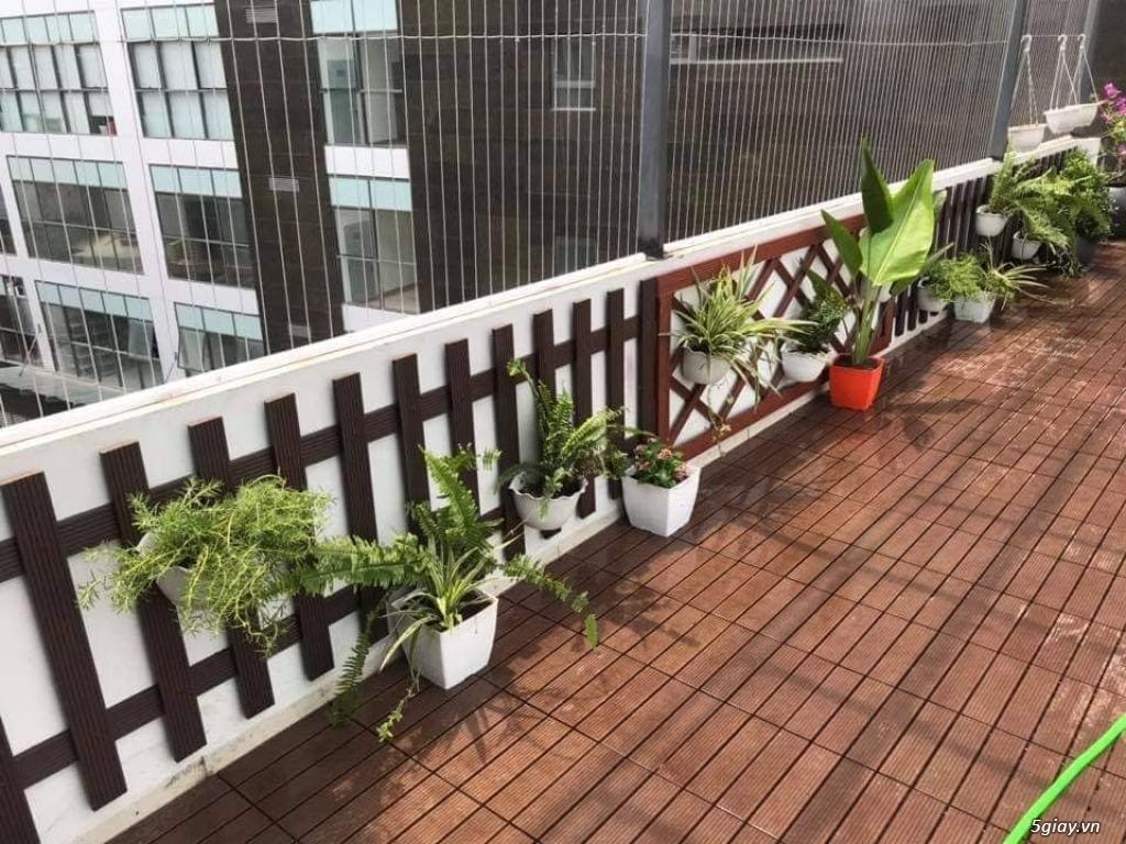 Bán sàn gỗ lát ban công của Nhựa Việt Pháp - 7
