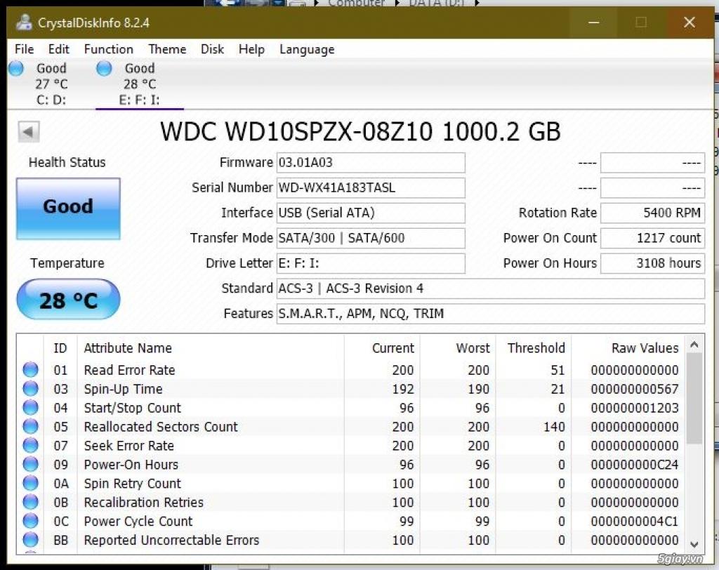 HDD Laptop 500GB & 1TB - 3