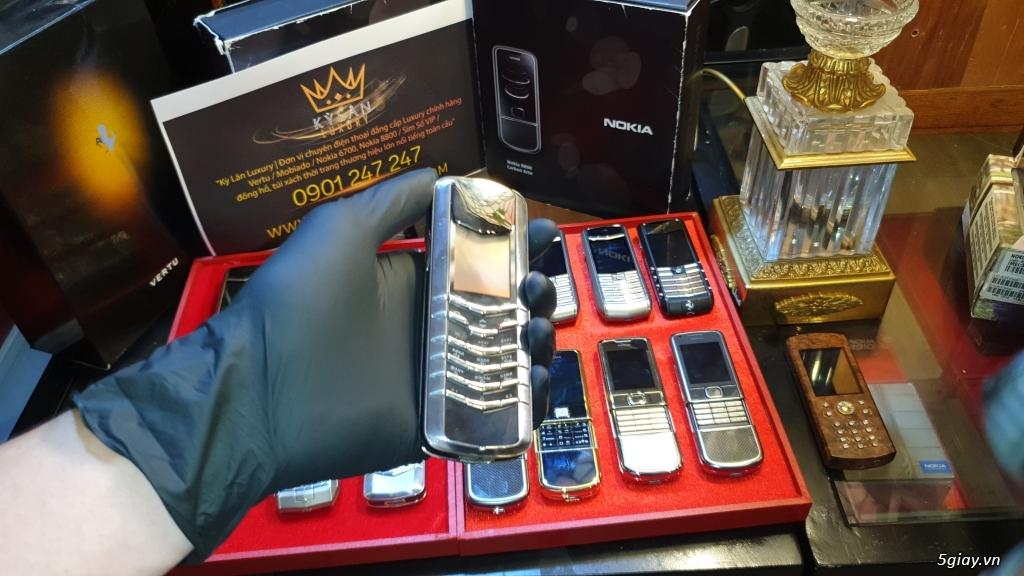 Ông hoàng điện thoại chính hãng Vertu // Nokia 8800 - 6700 - Mobiado - 4