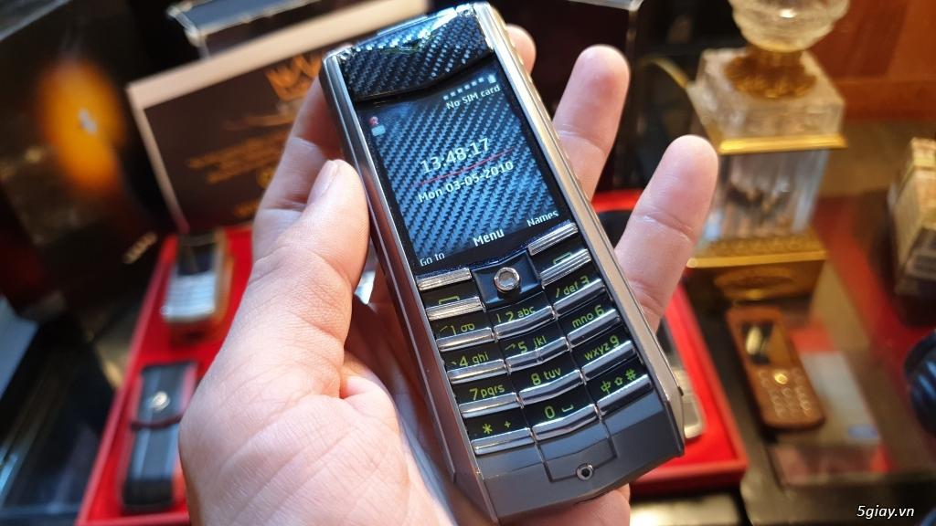 Ông hoàng điện thoại chính hãng Vertu // Nokia 8800 - 6700 - Mobiado - 29