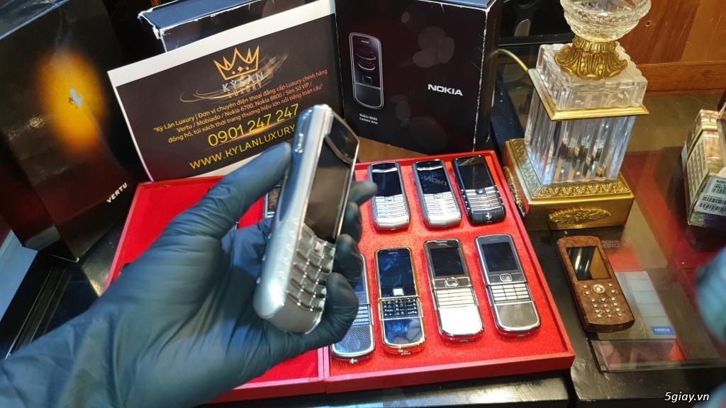Ông hoàng điện thoại chính hãng Vertu // Nokia 8800 - 6700 - Mobiado - 5