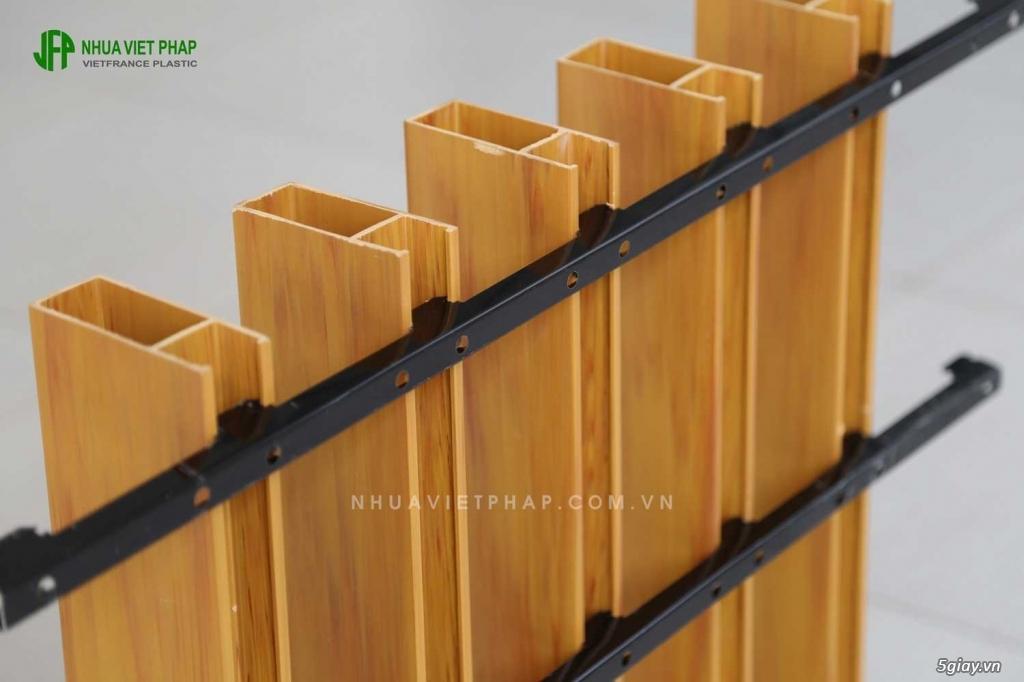 Bán thanh lam gỗ nhựa để trang trí trần, vách trong nhà - 10