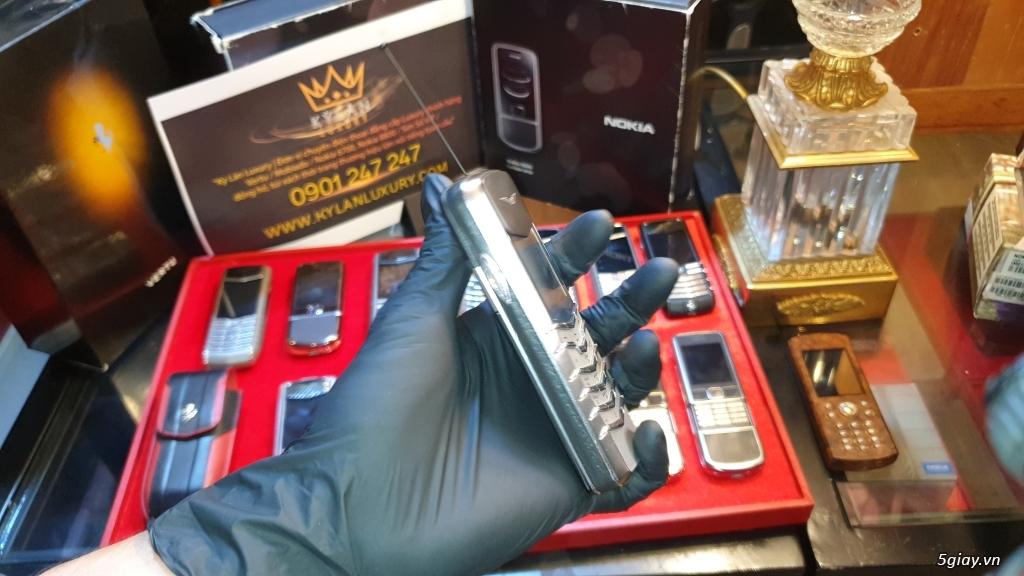 Ông hoàng điện thoại chính hãng Vertu // Nokia 8800 - 6700 - Mobiado - 9