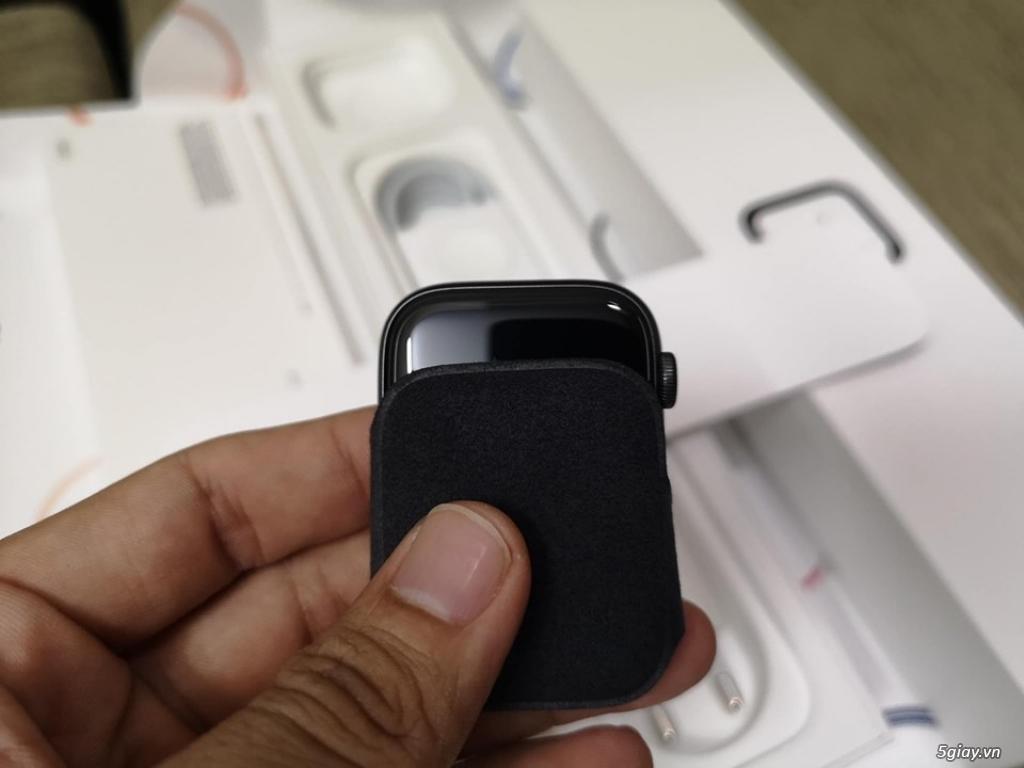 apple watch series4 44mm nhôm sport máy công ty chưa kích hoạt mới - 4