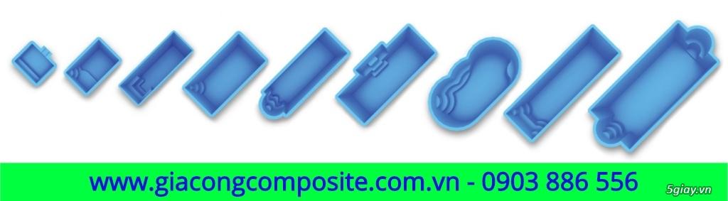Hồ bơi Composite - 1