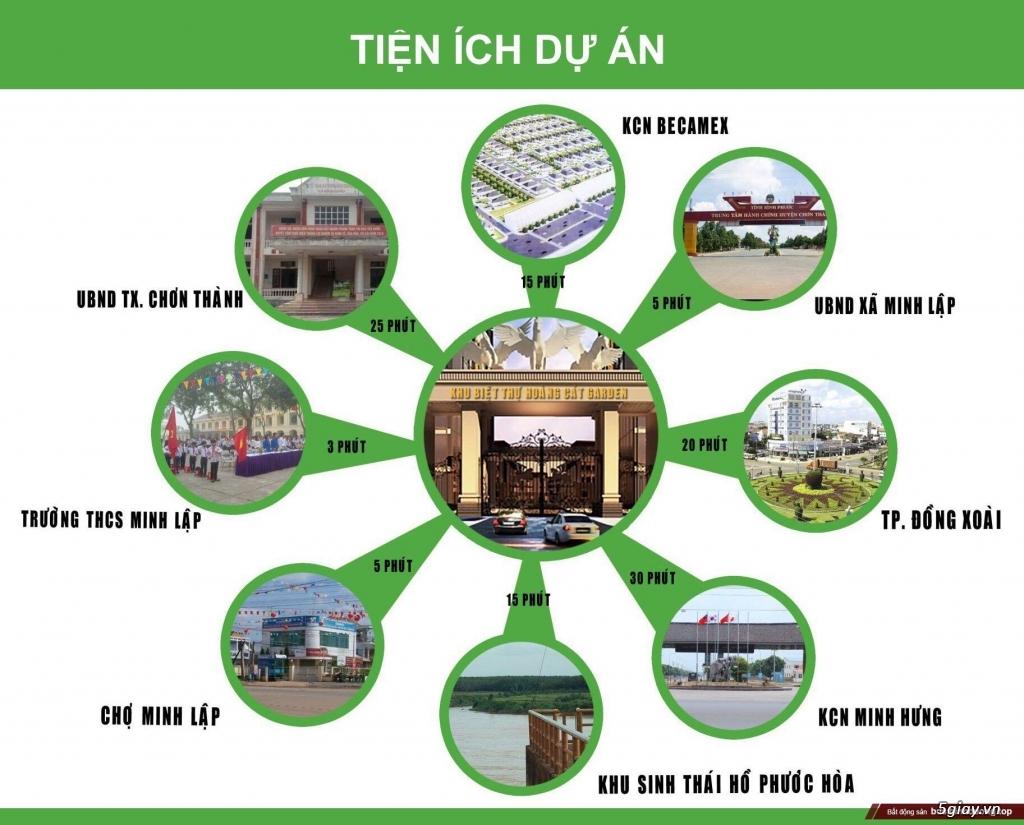 cần bán miếng đất trung tâm huyện Chơn Thành - 3