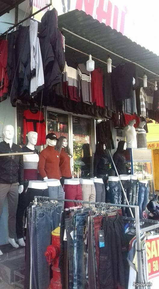 Cần sang tiệm quần áo Nam - 1