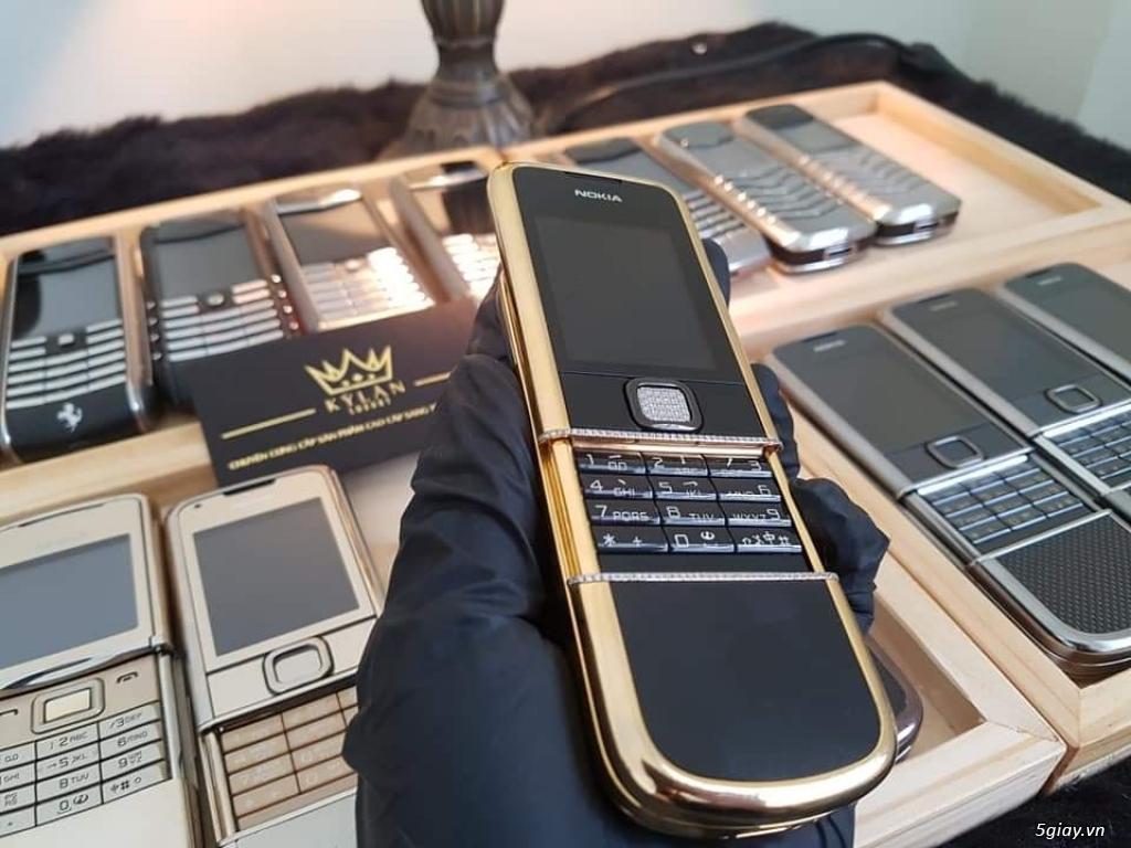 Ông hoàng điện thoại chính hãng Vertu // Nokia 8800 - 6700 - Mobiado - 18