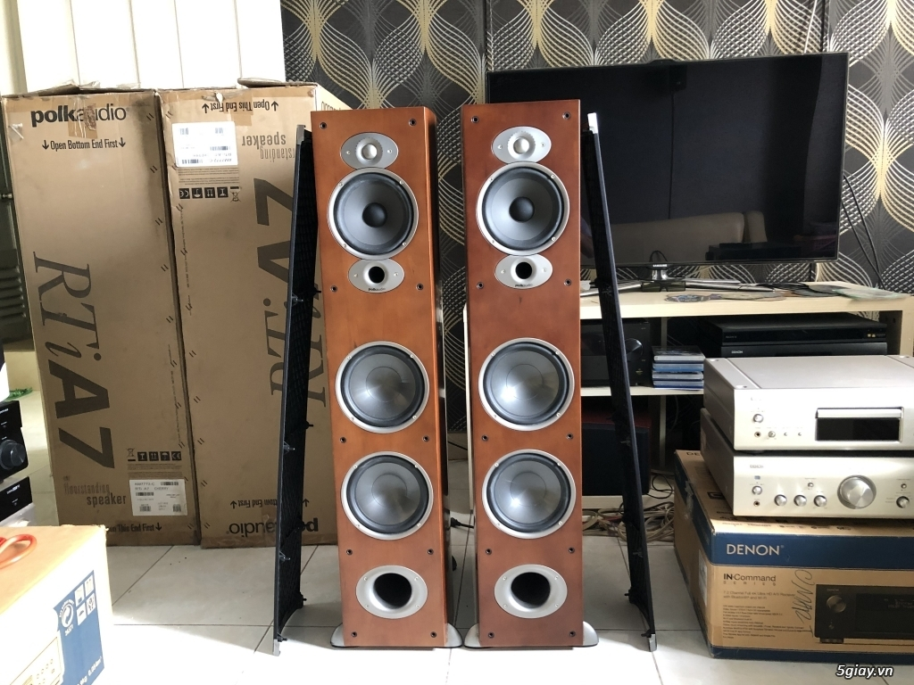 Ampli, CD, receiver, loa, subwoofer, center, surround các loại... - 17