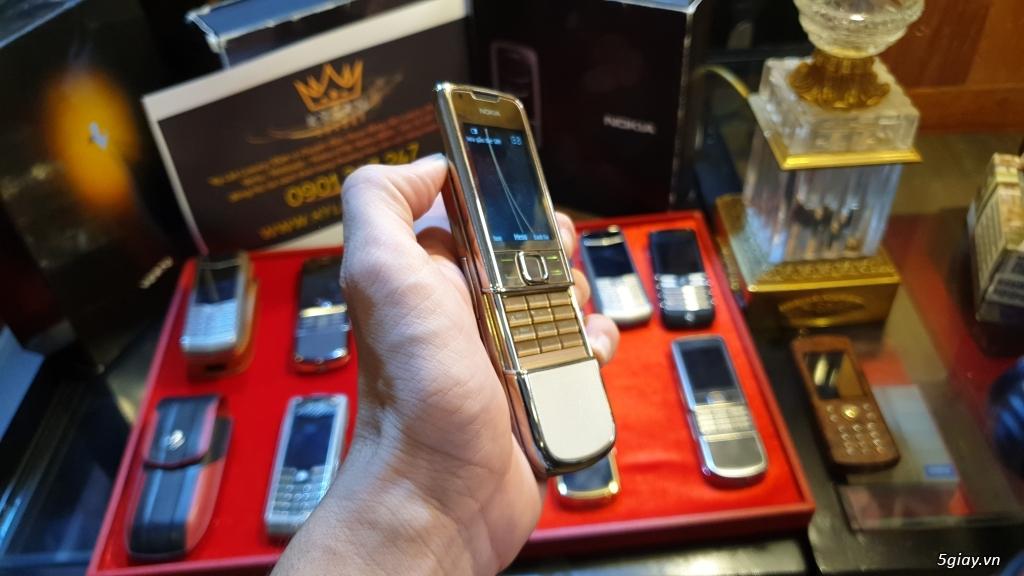 Ông hoàng điện thoại chính hãng Vertu // Nokia 8800 - 6700 - Mobiado - 24