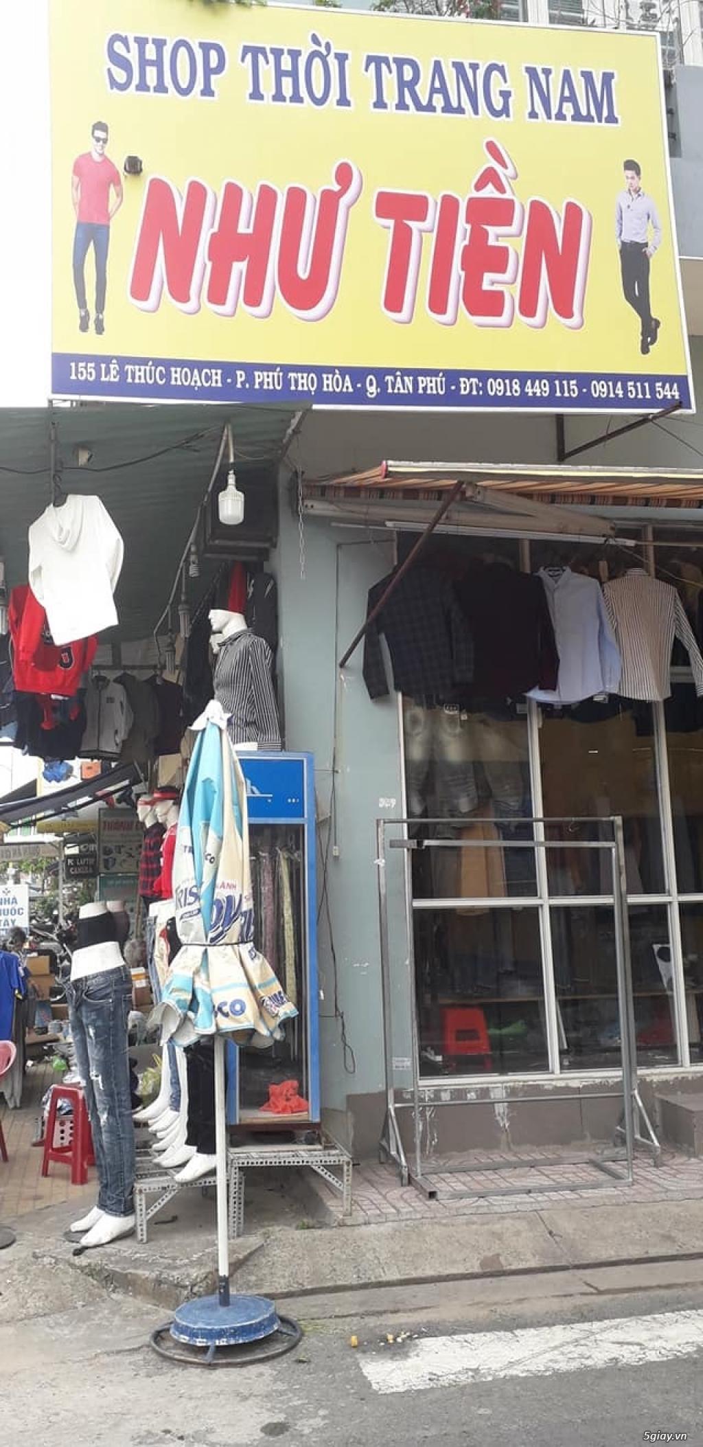 Cần sang tiệm quần áo Nam - 3