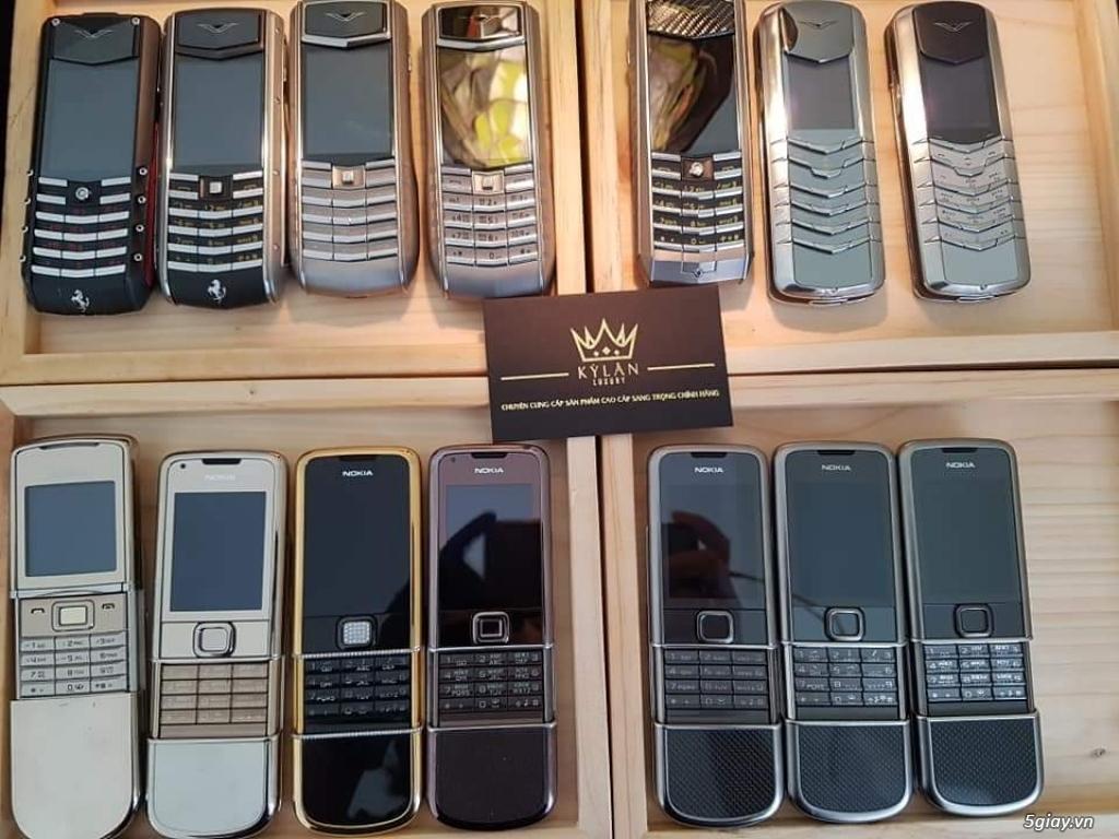 Ông hoàng điện thoại chính hãng Vertu // Nokia 8800 - 6700 - Mobiado - 15