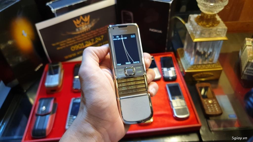 Ông hoàng điện thoại chính hãng Vertu // Nokia 8800 - 6700 - Mobiado - 22