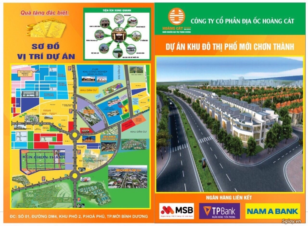 cần bán miếng đất trung tâm huyện Chơn Thành - 2