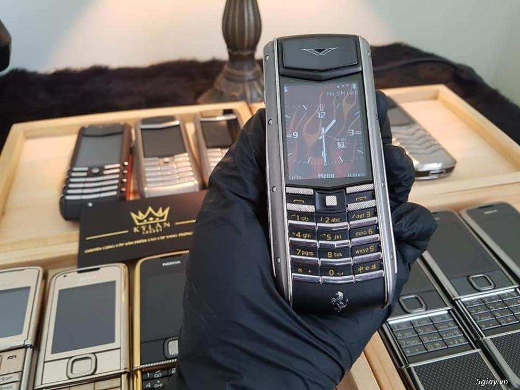 Ông hoàng điện thoại chính hãng Vertu // Nokia 8800 - 6700 - Mobiado - 20