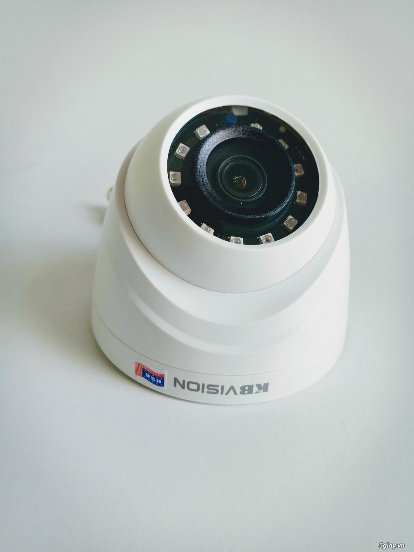 Camera Kbvision - KHÔNG còn lo sợ kẻ gian ghé thăm - 1