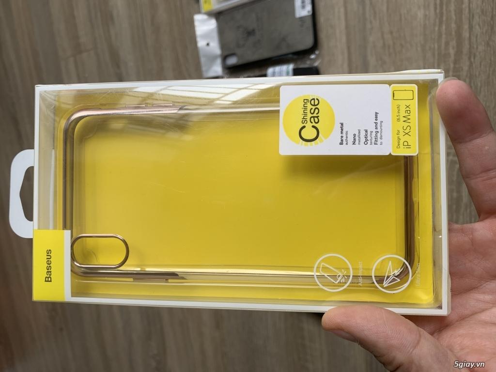 Thanh lý bao da + ốp lưng iphone X , Xs max - 1