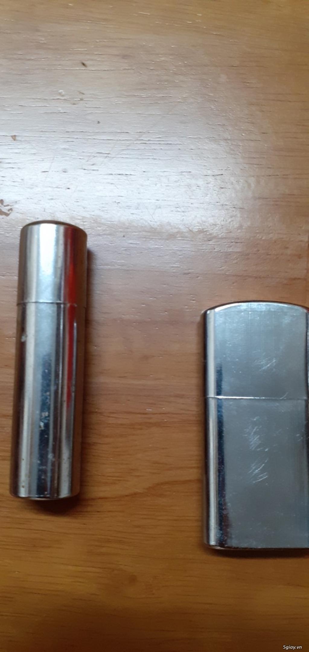 2 chiếc bật lửa xăng đá xưa2 end 22h59 ngày 26/10/2019