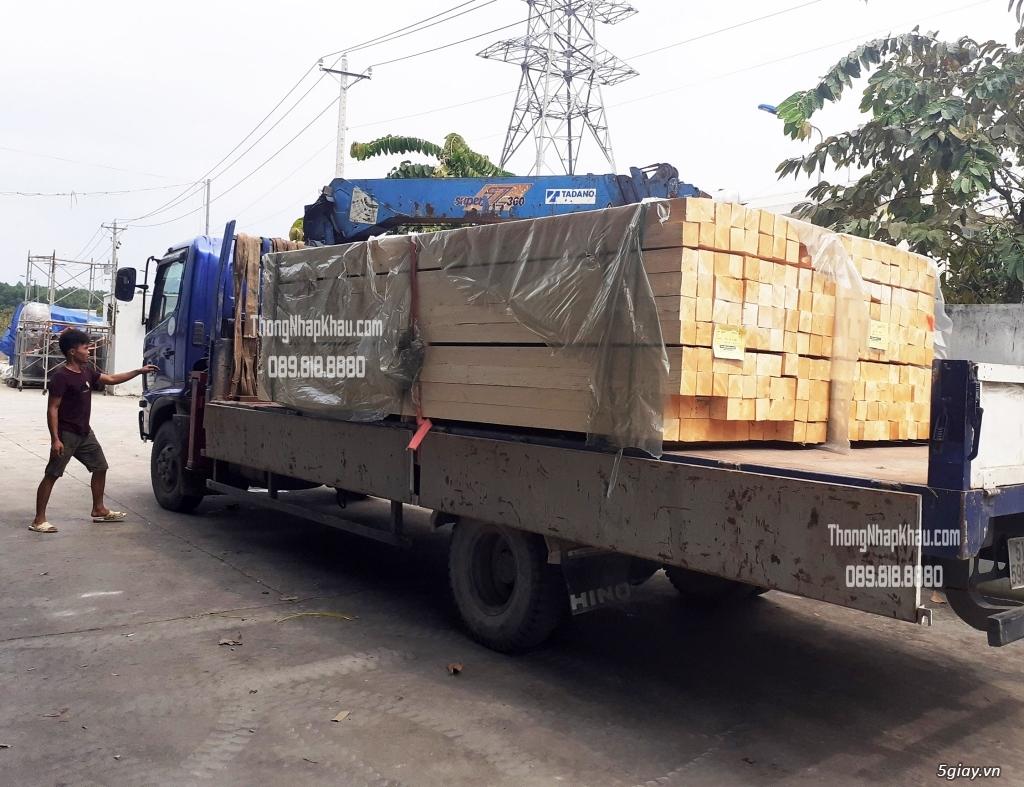 Thông Nhập Khẩu - Chào hàng lô gỗ Thông nhập khẩu Châu Âu - 1
