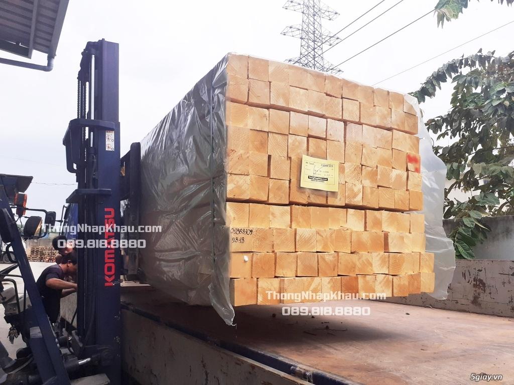 Thông Nhập Khẩu - Chào hàng lô gỗ Thông nhập khẩu Châu Âu