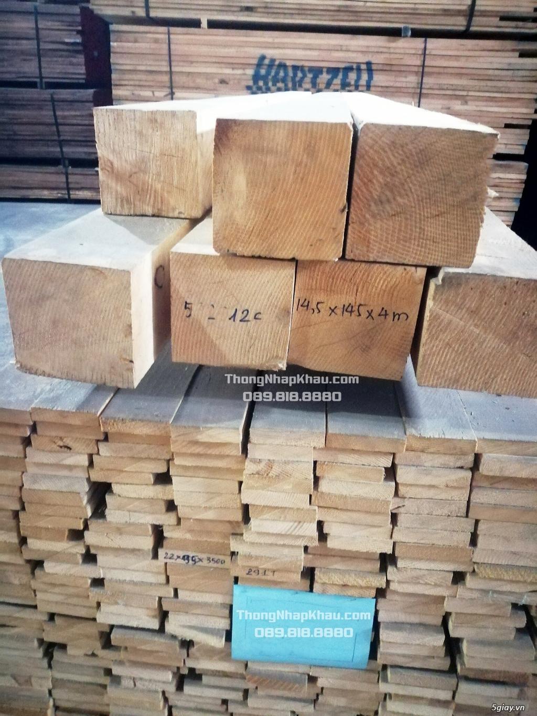 Thông Nhập Khẩu - Chào hàng lô gỗ Thông nhập khẩu Châu Âu - 3