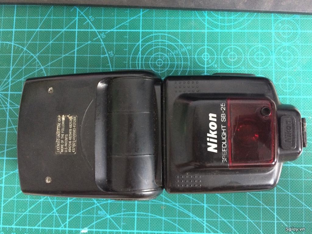 Cần bán đèn flash Nikon SB25 - 2
