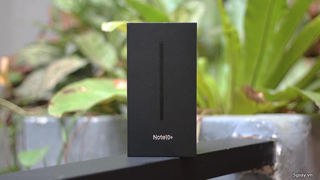 Note 10 Plus 256G Màu Bla Aura Glow FullBox Hàng Cty Còn BH 10 Thá - 2