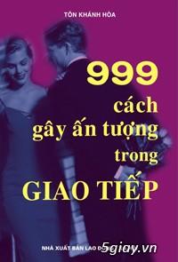 Cần mua-sách 999 cách gây ấn tượng trong giao tiếp