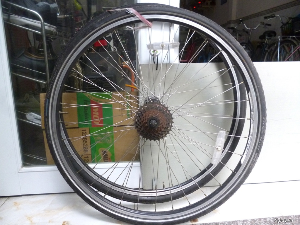 Sửa chữa-cân chỉnh-thay thế phụ tùng xe đạp bãi Nhật