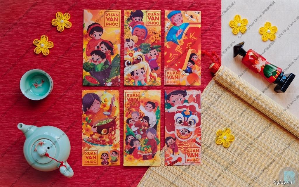 Sỉ và Lẻ Bao Lì Xì Thuần Việt 2020