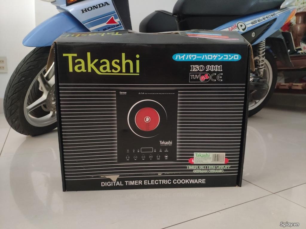 Bếp điện quang Takashi end 22h59p 31/10/19 - 1