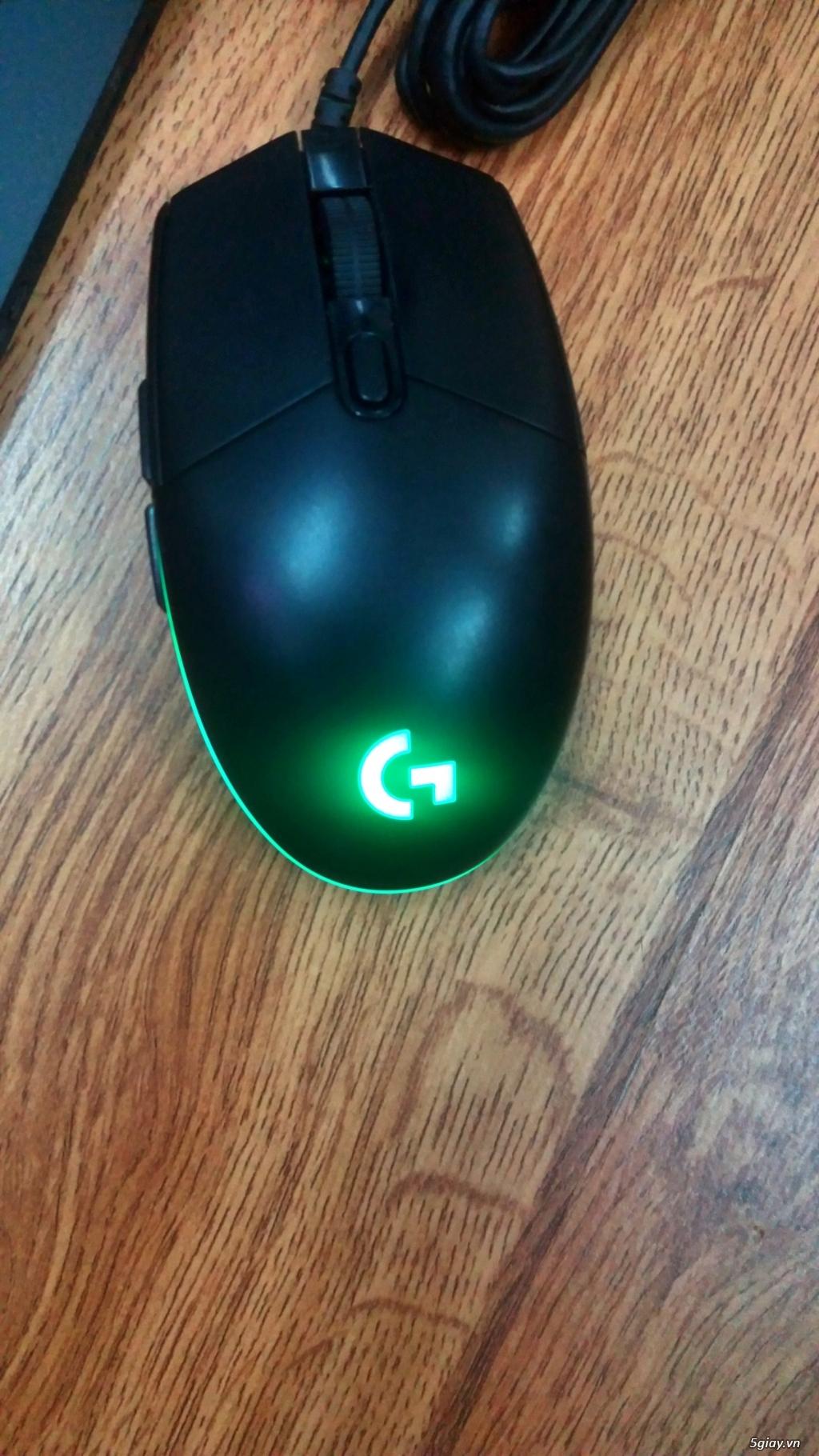Chuột chuyên game Logitech g102 chính hãng likenew - 2