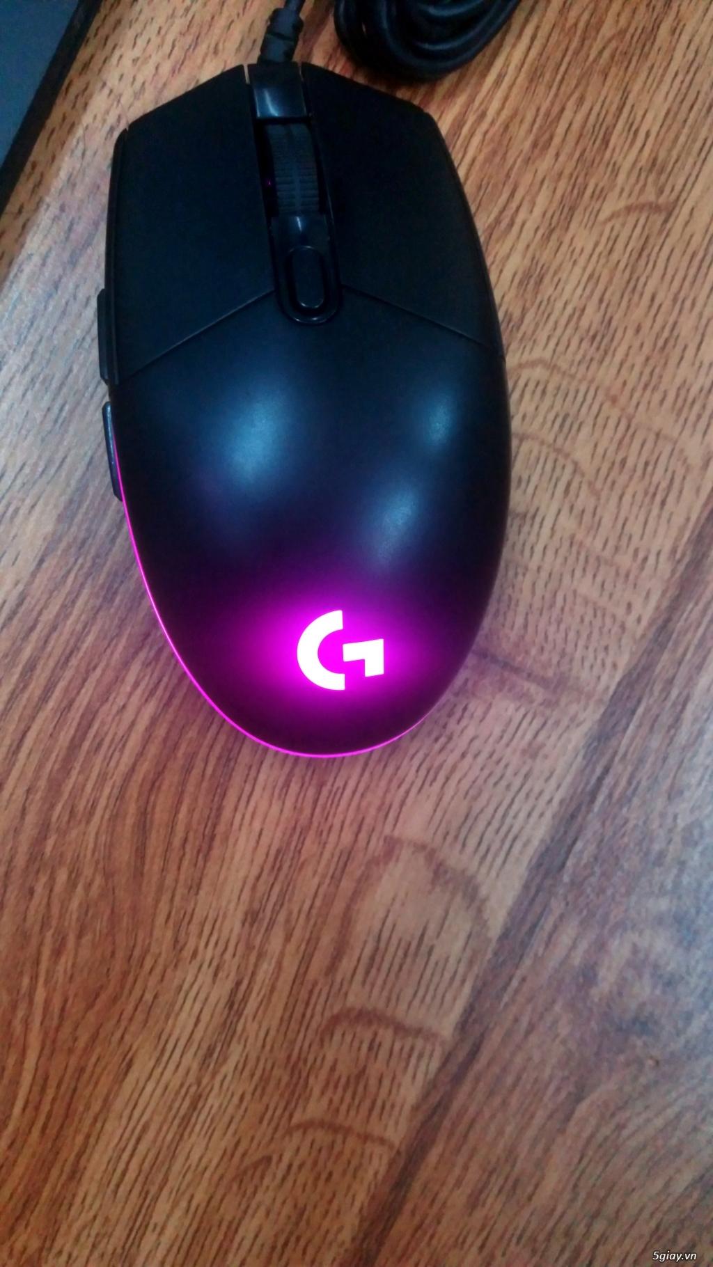 Chuột chuyên game Logitech g102 chính hãng likenew - 5