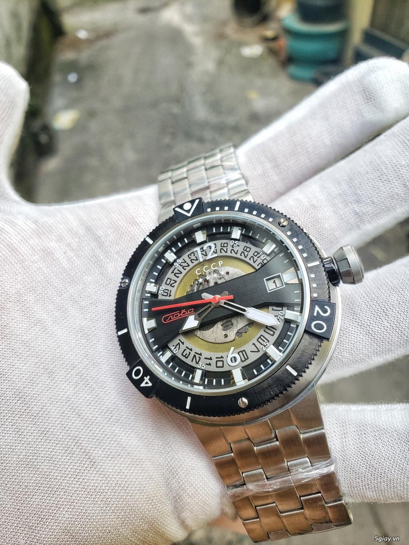 Đồng hồ CCCP máy Slava huyền thoại