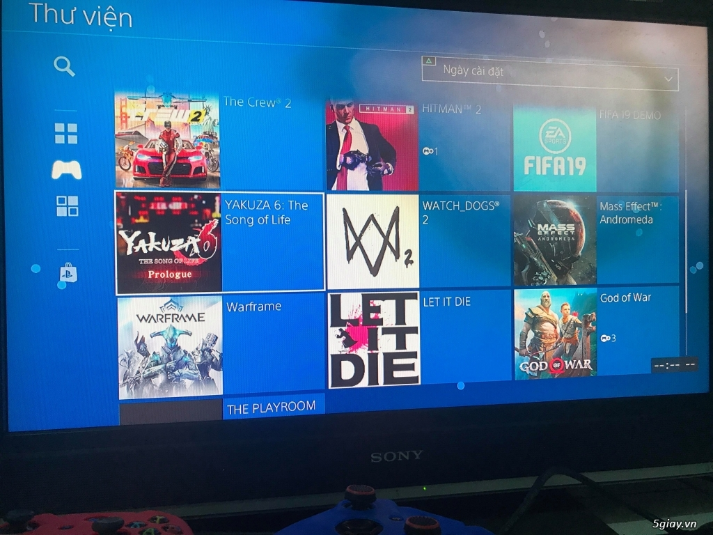 Máy game PS4 - 4