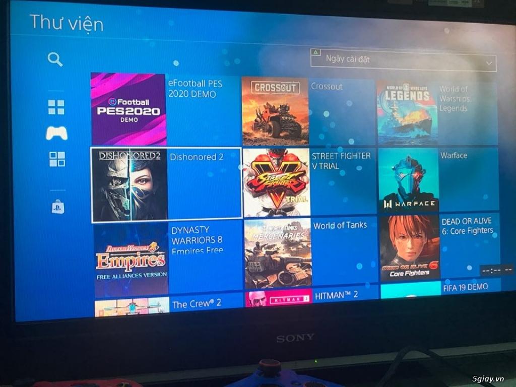 Máy game PS4